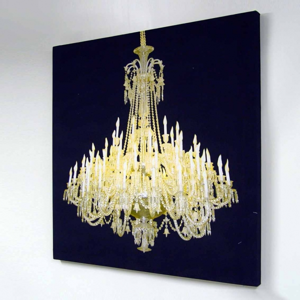 Chandeliers on the wall wall decor source chandelier glocanvas 2 aloadofball Image collections