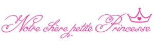 Petit Princesse wall quote