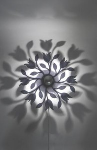 Tulip wall sconce