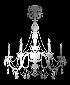 Chandeliers on the wall wall decor source chandelier mirror aloadofball